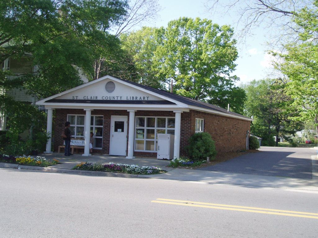 County Library in Ashville