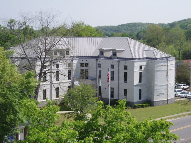 Annex From Atop Ashville Courthouse